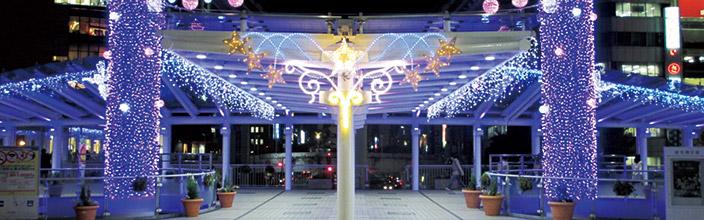 「小倉駅 イルミネーション」の画像検索結果
